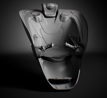 robot Frog Interior